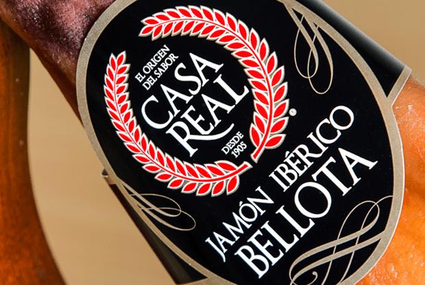 Etiqueta Jamón Ibérico de Bellota