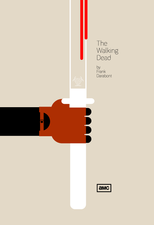Cartel minimalista The Walking Dead