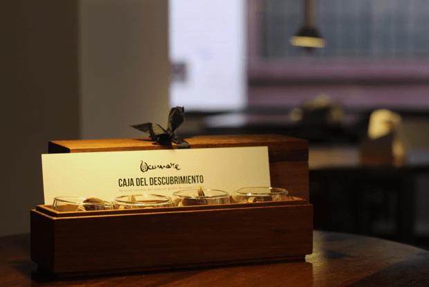 Tarjetón Caja del Descubrimiento