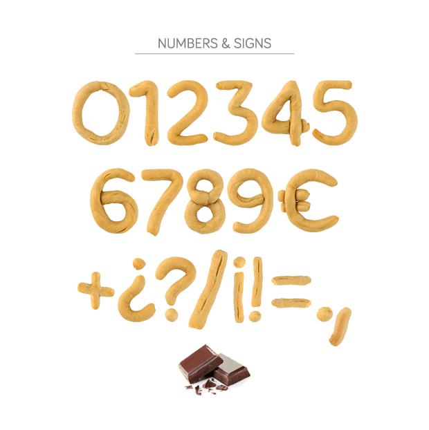 Guadaíra Font Números y Signos