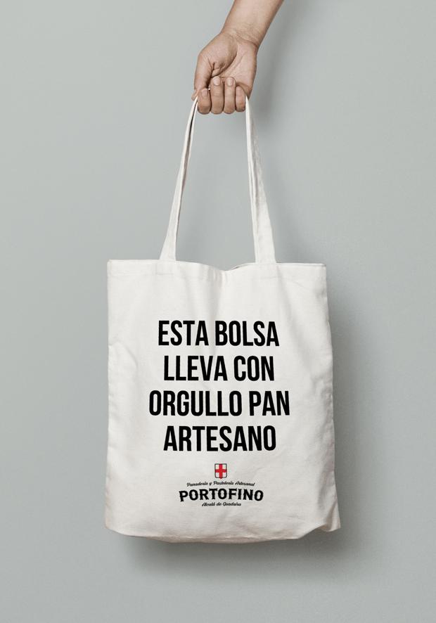 Bolsa de tela Portofino