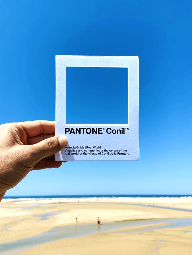 Cielo. Pantone Conil
