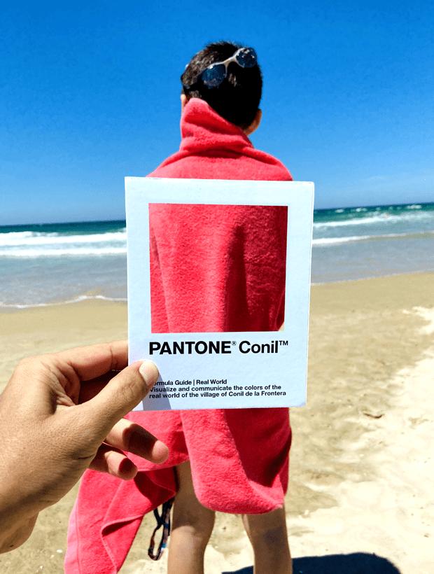 Toalla. Pantone Conil
